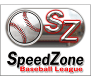 Speed Zone Baseball Logo Design