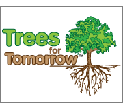 Trees for Tomorrow Eco Friendly Logo Design