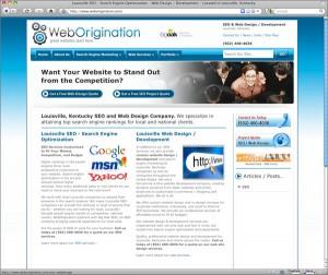 WebOrigination Home Page